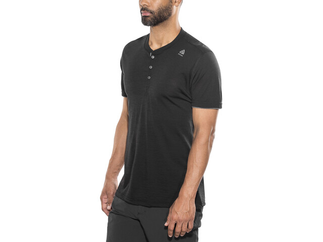 Aclima LightWool - Camiseta manga corta Hombre - negro